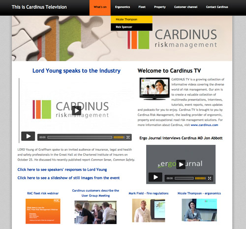 Cardinus TV Peterborough Video Production